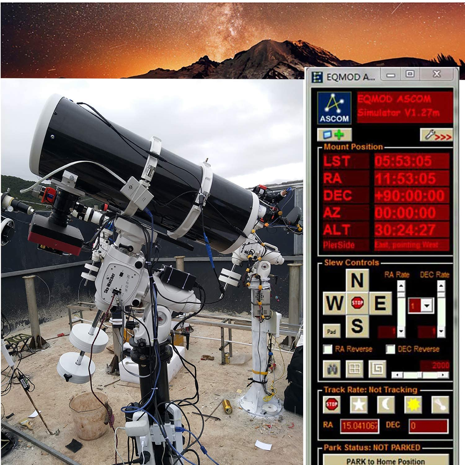 EQMOD ASCOM Skywatcher Telescopes Cable for Skywatcher HEQ5pro AZEQ5 AZEQ6 EQ6-R Support EQMOD ASCOM Set Up Sofware Manual Download Support Windows 10 Android 16ft//500cm, USB to DB9