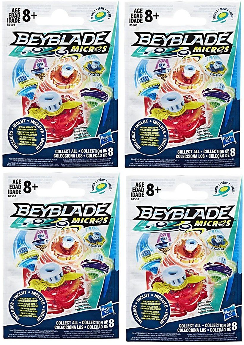 Beyblade Micros Series 1 Blind Bag Pack of 4