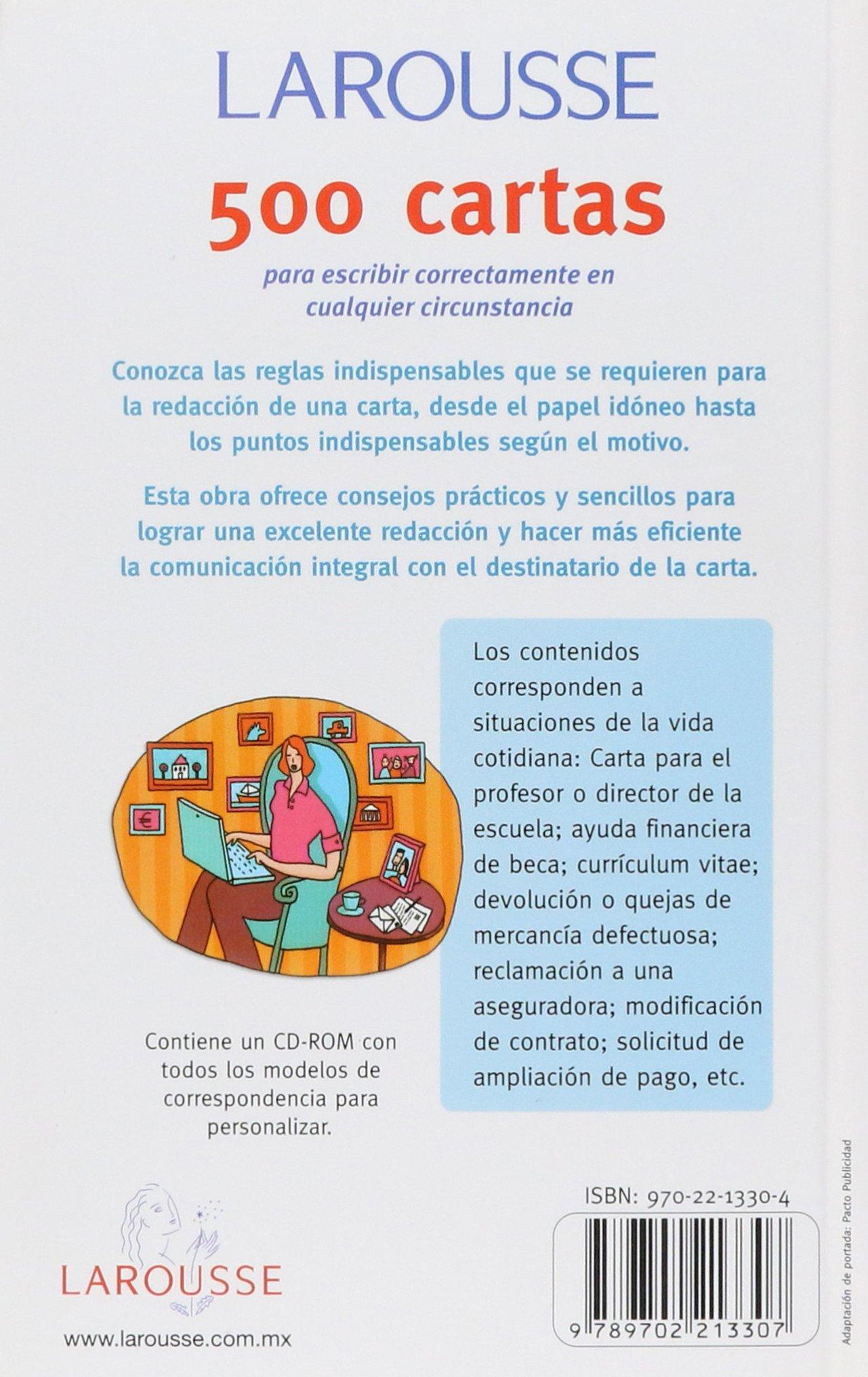 Amazon Com Larousse 500 Cartas Larousse 500 Letters