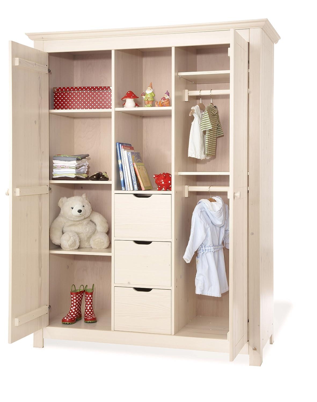 Pinolino 101633BG - Finja Kinderzimmer groß, 3-teilig mit Kinderbett ...