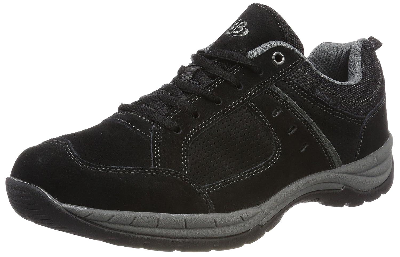 Bruetting Top Comfort, Zapatillas Unisex Adulto 41 EU|Negro (Schwarz/Grau Schwarz/Grau)