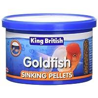 Beaphar King British Goldfish Sinking Pellet 140g