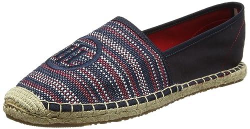 Tommy Hilfiger L1285ana 13d, Alpargatas para Mujer, (RWB), 41 EU: Amazon.es: Zapatos y complementos