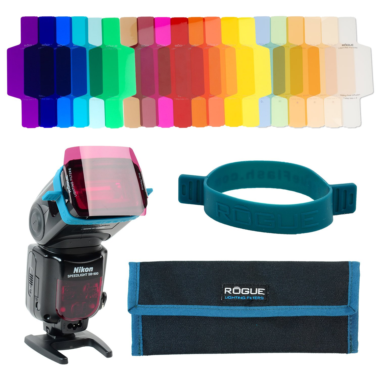 ExpoImaging ROGUEGELS-U Rogue Photographic Design Rogue Gels Universal Lighting Filter Kit by Rogue Photographic Design