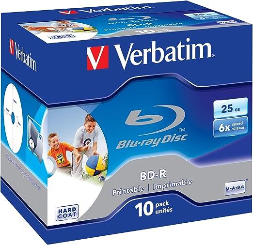 Verbatim Bd R Single Layer 25gb 6x Speed Printable Computer Zubehör