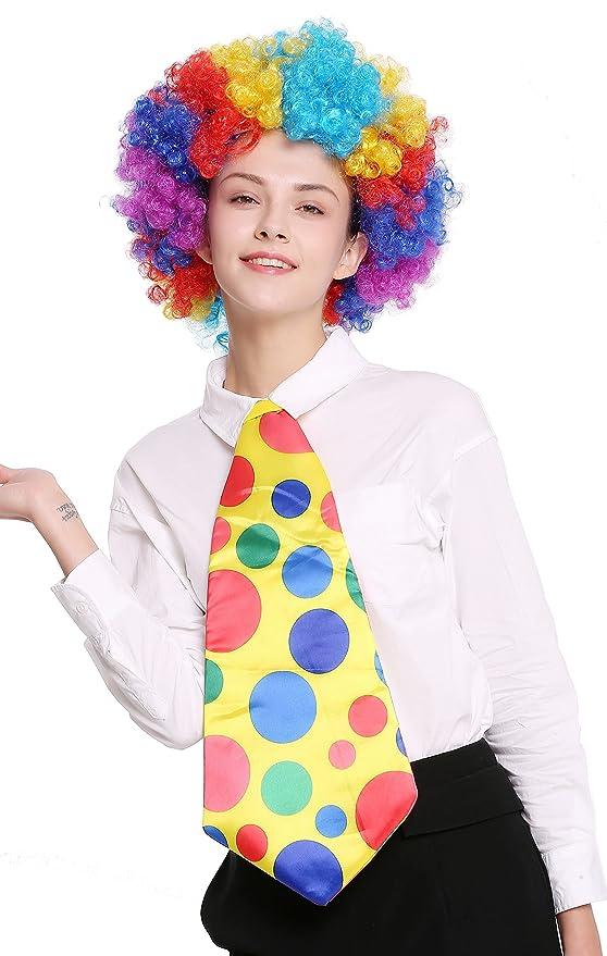dressmeup Dress ME UP - BB-043-clown Corbata Enorme Amarilla ...