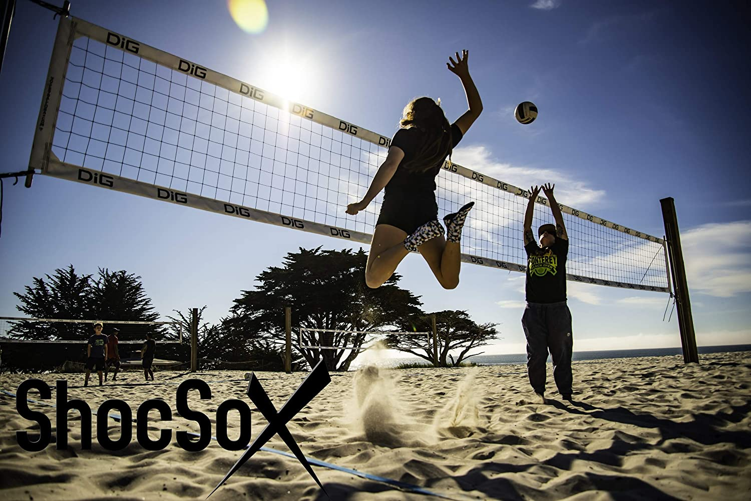 Best Beach Volleyball Socks Sand Soccer Socks Play in Our Never Slip or Rip Secure Top Neoprene Socks All Day All Season. Fin Socks and All Beach Sport Sock Activities