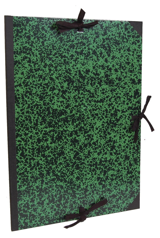 Clairefontaine 33400C Annonay Zeichenmappe (mit Bändern, ohne Klappen, Rücken 30 mm, innen  73 x 103 cm, außen  75 x 105 cm, ideal zur Aufbewahrung Ihrer Werke) grün B00BHY3CZI  | Schön