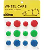 Anki Cozmo Wheel Caps Accessories, Add Vibrant Color and Character to Your Robot, Mix Pack: Red, Green, Blue by IKR