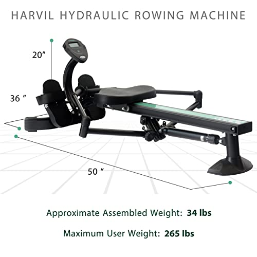 Harvil Hydraulic Resistance Rowing Machine