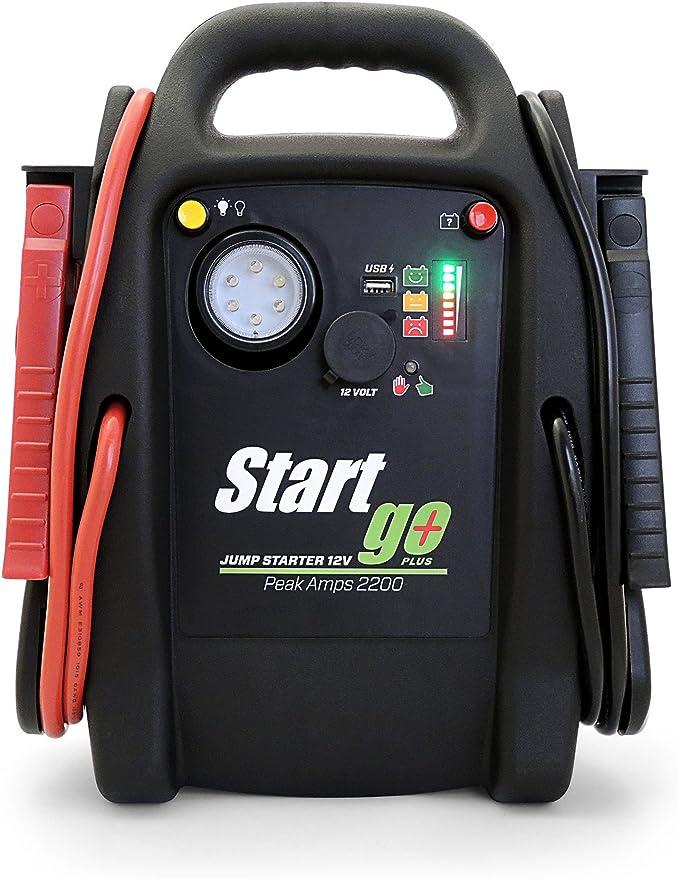Intec Sg2200 Start Go Plus Starthilfe 12 V 2200 A Auto