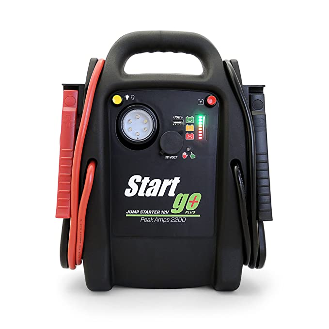 Intec SG2200 START GO PLUS Arrancador de motores profesional 12v 2200 amp: Amazon.es: Coche y moto