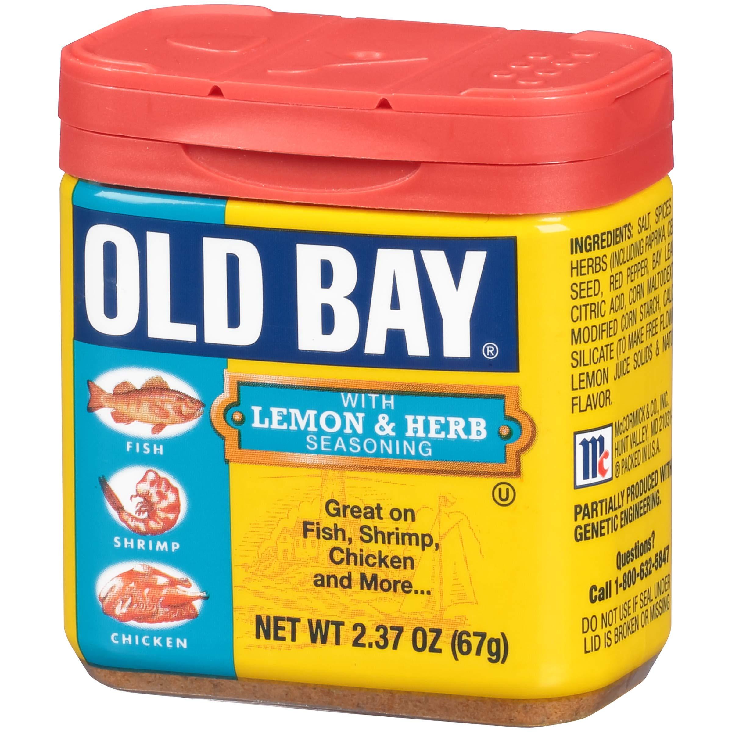 OLD BAY Lemon & Herb Seasoning, 2.37 oz