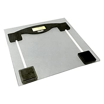 Amazon.com: Báscula de baño vidrio de litio: Health ...
