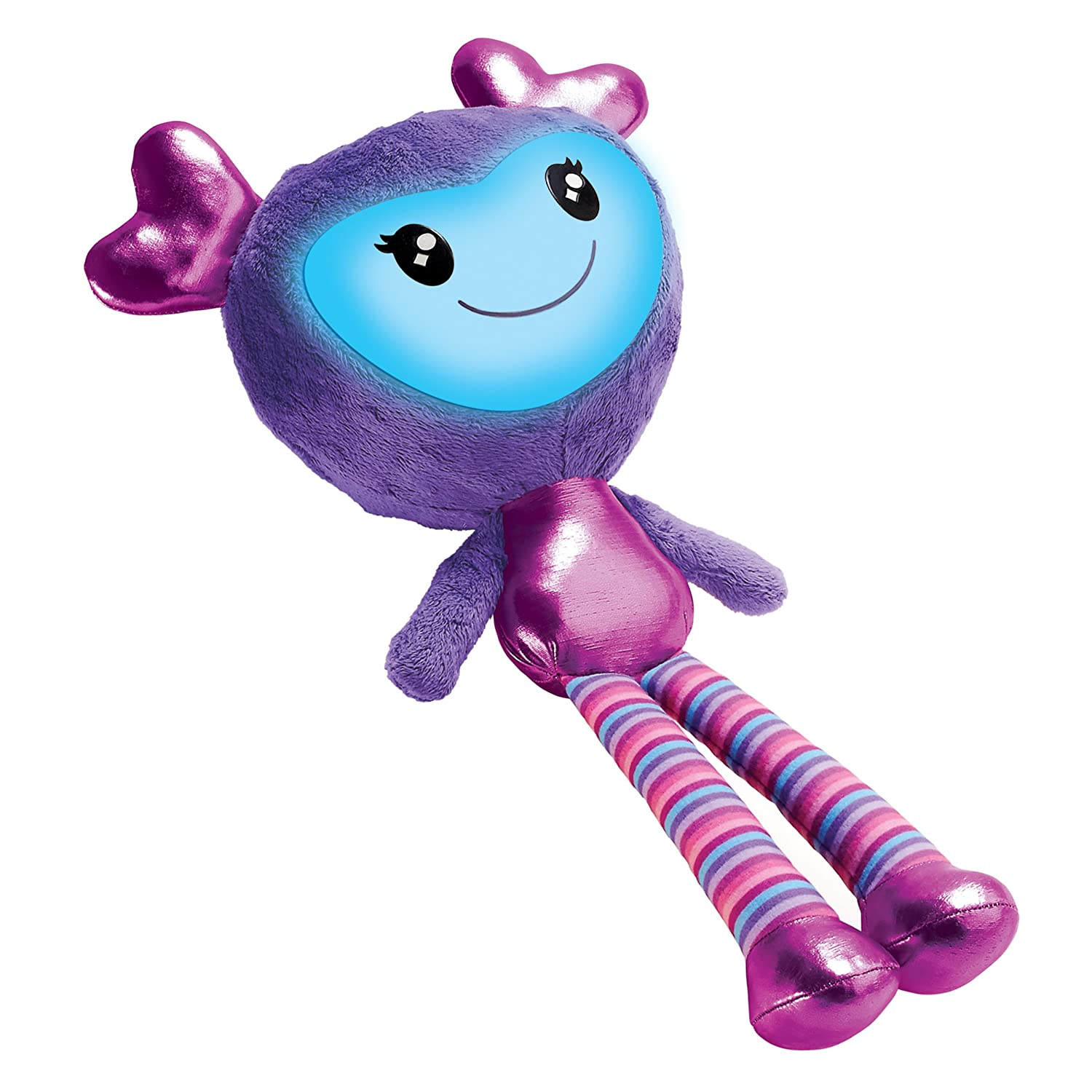 Brightlings by Spin Master Interactive Singing Purple Talking 15 Plush