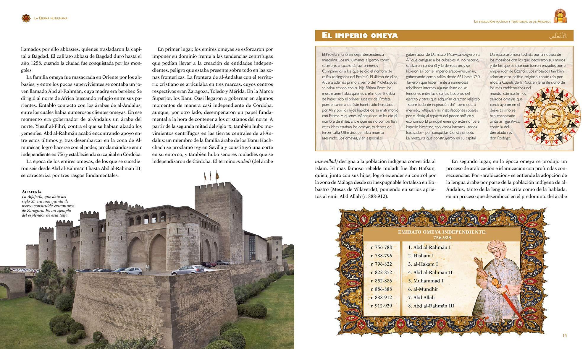 España Musulmana (Atlas Ilustrado): Amazon.es: Fierro, Maribel, Susaeta, Equipo: Libros