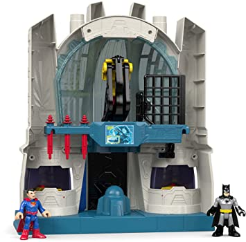 Amazon.com: Fisher-Price Imaginext DC Super Friends Hall of ...