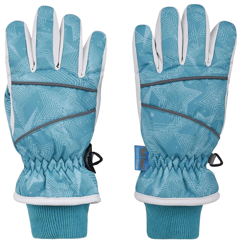 AbbyLexi Kids Boys Girls Winter Thinsulate Cotton Ski Snowboard Gloves
