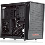 RIOTORO Small Gaming Case with Compartment Design, Full ATX Support, Dedicated VGA [CR1080]