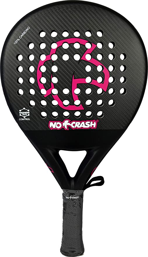 No+Crash Pala Fucsia Control Edition 2018-2019 (Carbono Y GRAFENO)