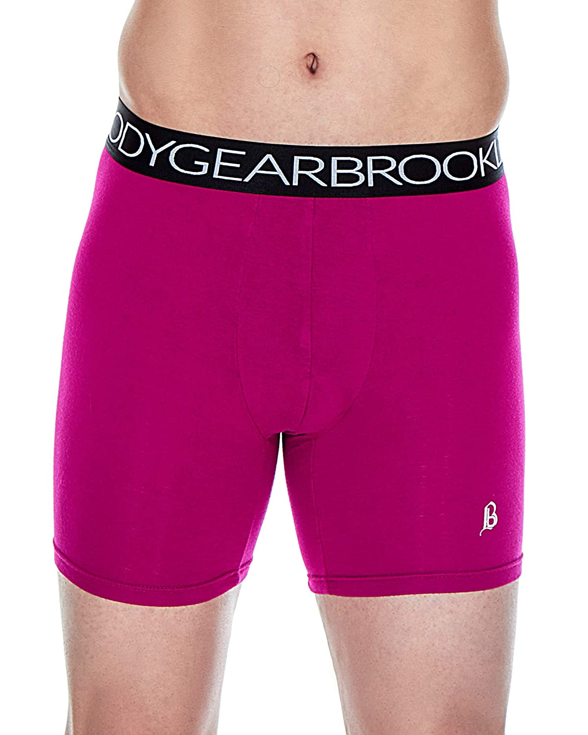 Brooklyn Bodygear Men/'s Ultra-Soft Stretch Signature Boxer Briefs