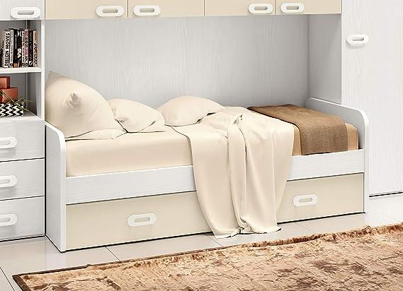 Tosend - Sofá Cama para Dormitorio con somier extraíble ...