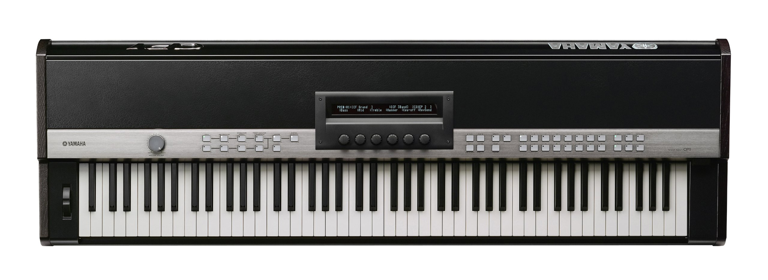 Yamaha CP1 Premium Stage Piano with Natural Wood Keys and 3-Pedal Unit by YAMAHA