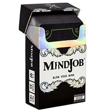 MINDJOB - a Party Game / Drinking Game That Blows Minds and Spills Drinks (2-8 Players)