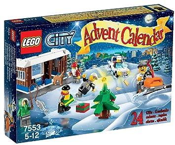 Calendrier Avent Lego City.Lego City 7553 Jeu De Construction Le Calendrier De L Avent Lego City