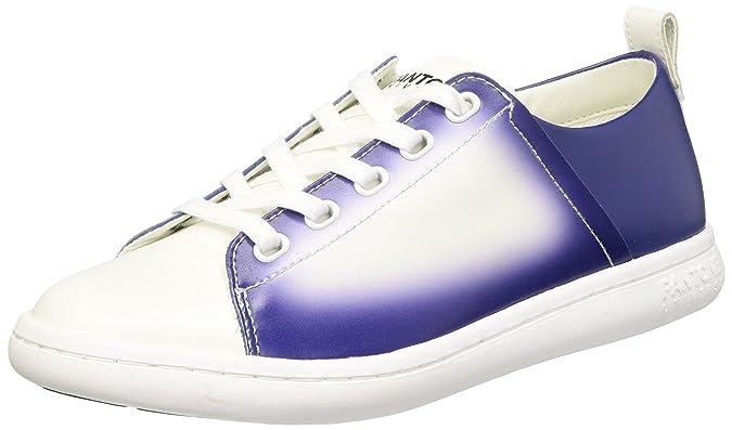 Pantone Australian Open - Zapatillas Unisex adulto, - plateado y blanco, /