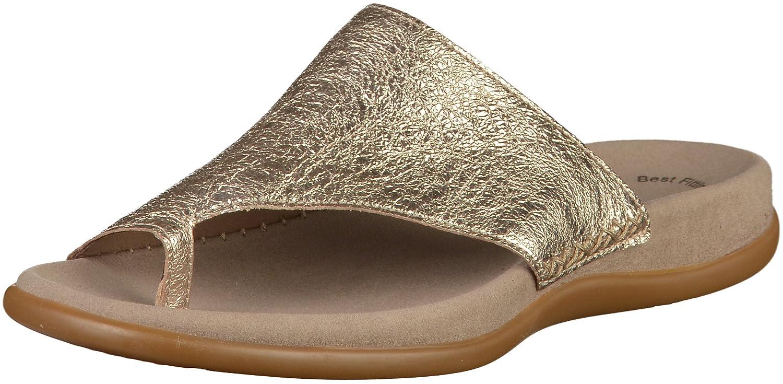 Gabor Damen Jollys Pantoletten, Mehrfarbig  40 EU|Gold(Beige)