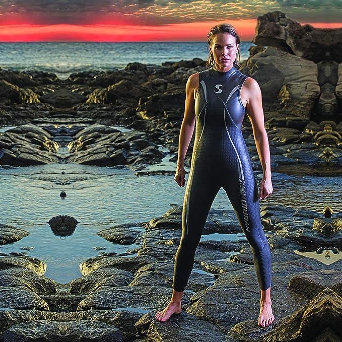 Amazon.com: Triathlon Wetsuit – Synergy Mujer híbrida sin ...