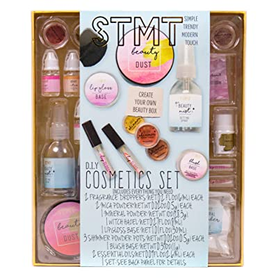 STMT DIY Cosmetics Set by Horizon Group USA, Create Your Own Cosmetic Line with Signature Fragrances, Shiny Lip Glosses, Refreshing Mists & Creamy Blush Sticks. Multicolored: Toys & Games