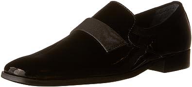Calvin Klein Men's Guilford Slip-OnBlack Patent7.5 ...