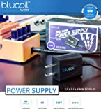 BOSS BF-3 Flanger Pedal for Guitars and Bass Bundle with 9V Zinc Carbon Battery, Blucoil Slim 9V 670ma Power Supply AC Adapter, 10-FT Mono Instrument Cable, and 4-Pack of Celluloid Guitar Picks