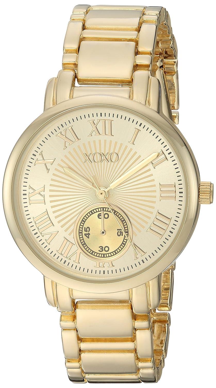 XOXO Women s Analog-Quartz Watch with Alloy Strap, Gold, 16 Model XO200