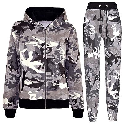 4c8f46844dc14 A2Z 4 Kids® Kids Tracksuit Boys Girls Designer's Camouflage Jogging Suit  Top Bottom 5-