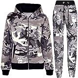 Kids Tracksuit Boys Girls Designer's Camouflage...