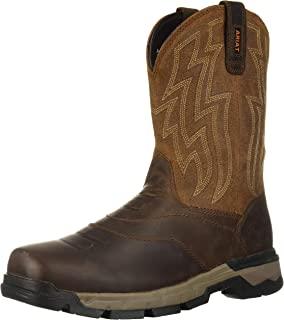 169f3199428 Amazon.com | Ariat Men's Workhog Wide Square Toe Work Boot | Western