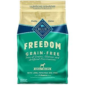 Blue Buffalo Blue Freedom Grain-Free Adult Lamb Recipe