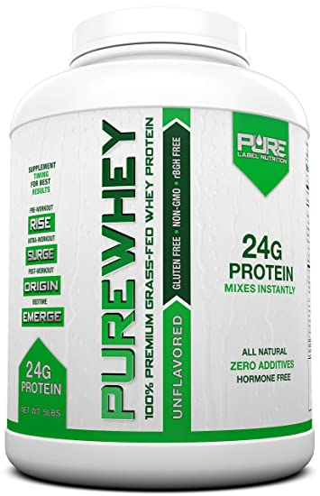 Whey protein no additives