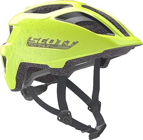 Scott 275232 - Casco de Bicicleta Unisex para niño, Color Amarillo ...