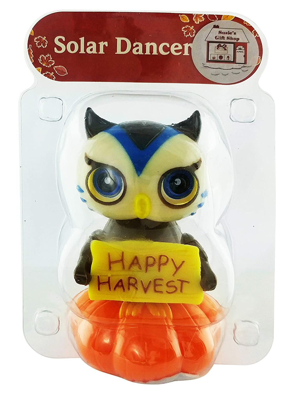 Harvest Owl and Turkey Solar Dancers Millwood Brothers