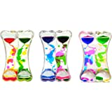 Liquid Double Coloured Timers By Playlearn (Pack of 3 Assorted Colours Inside The Box)