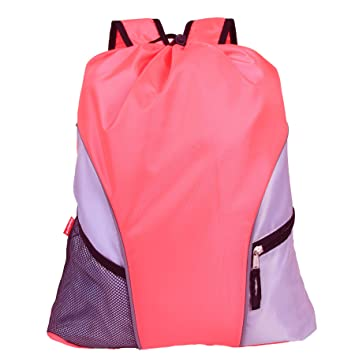 e0141af0bf Damero Lightweight Drawstring Backpack Gym Sack for Adults   Children with  Straps