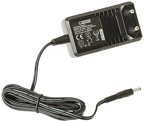 Compex - Cargador rápido de baterías para máquinas de musculación, Color Negro