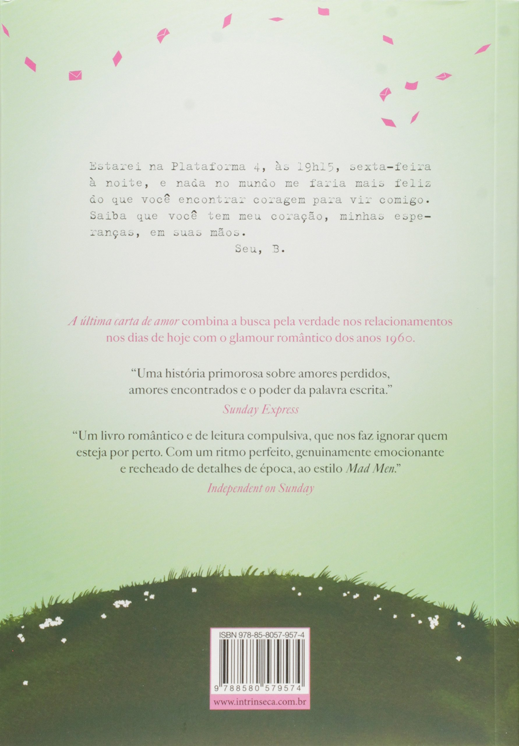 A Ultima Carta de Amor (Em Portugues do Brasil): Jojo Moyes: 9788580579918:  Amazon.com: Books
