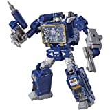 Transformers Toys Generations War for Cybertron Voyager Wfc-S25 Soundwave Action Figure - Siege Chapter - Adults & Kids Ages