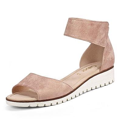 Gabor Sandaletten in Übergrößen, rosa, Rose