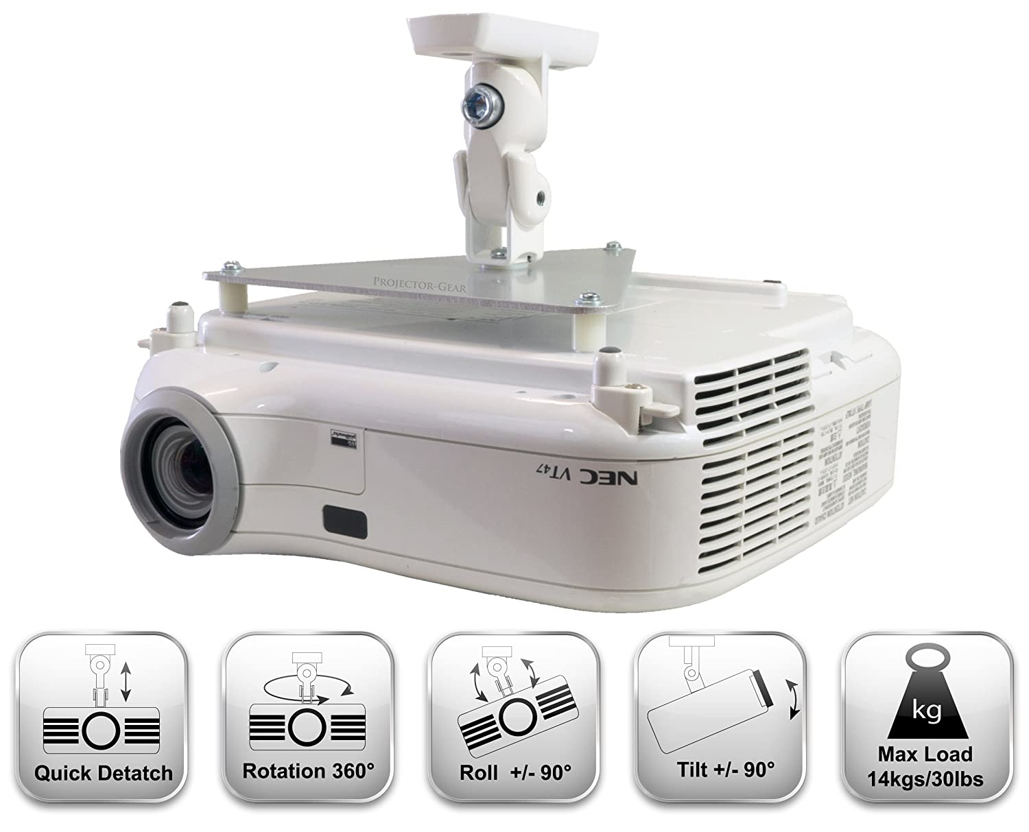 home media video av mini ceiling down mount player support drop lcd movie tv sd product theatre projector games hdmi